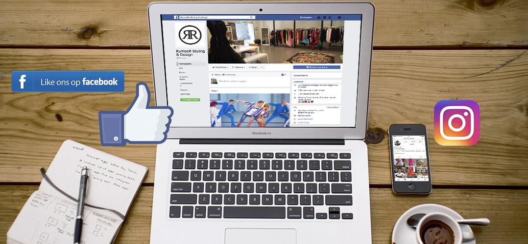 Volg Rumoer op Facebook en Instagram